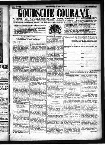 Goudsche Courant 1931-07-09