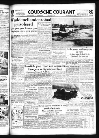 Goudsche Courant 1954-02-11