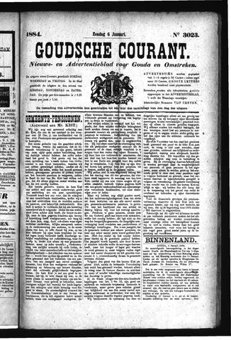Goudsche Courant 1884-01-06