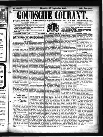 Goudsche Courant 1917-09-25