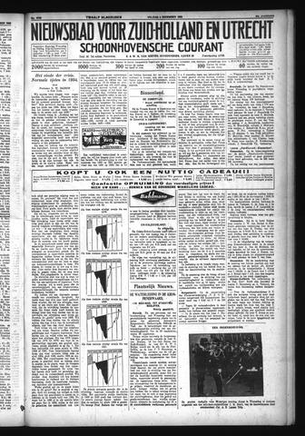 Schoonhovensche Courant 1932-12-02