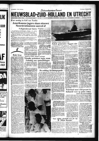 Schoonhovensche Courant 1964-08-05