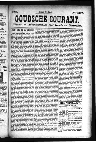 Goudsche Courant 1886-03-21
