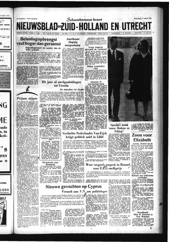 Schoonhovensche Courant 1964-03-11
