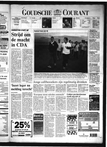 Goudsche Courant 2001-09-28