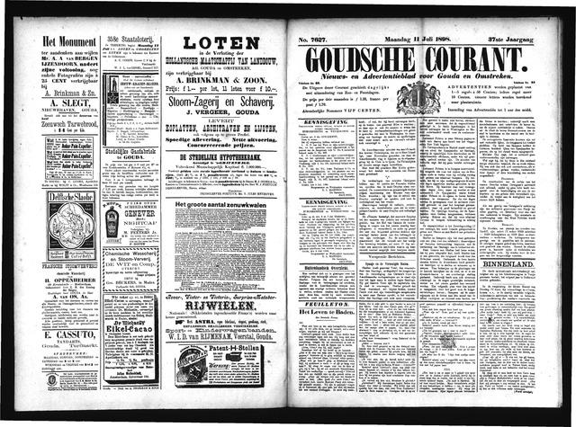 Goudsche Courant 1898-07-11