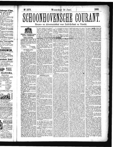Schoonhovensche Courant 1893-06-14