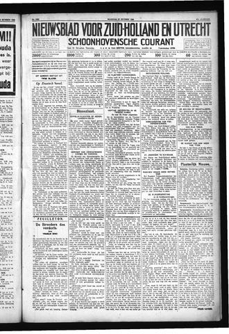 Schoonhovensche Courant 1930-10-27