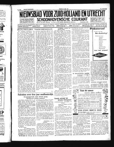 Schoonhovensche Courant 1939-05-19