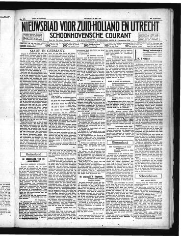 Schoonhovensche Courant 1937-05-10