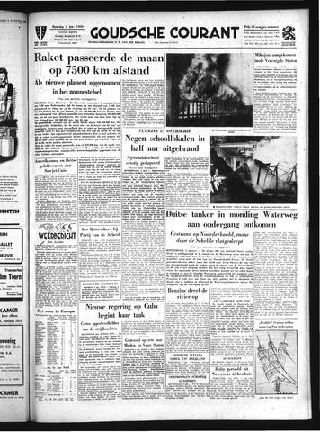 Goudsche Courant 1959-01-05