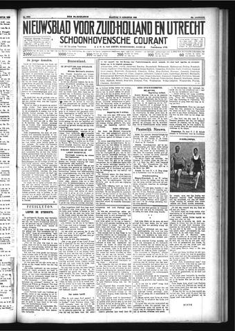 Schoonhovensche Courant 1933-08-14