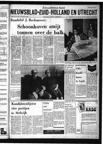 Schoonhovensche Courant 1974-04-24