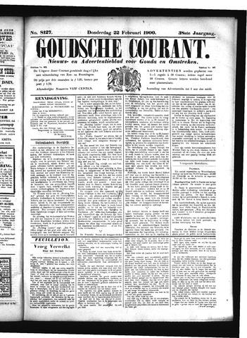Goudsche Courant 1900-02-22