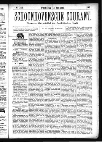 Schoonhovensche Courant 1893-01-18