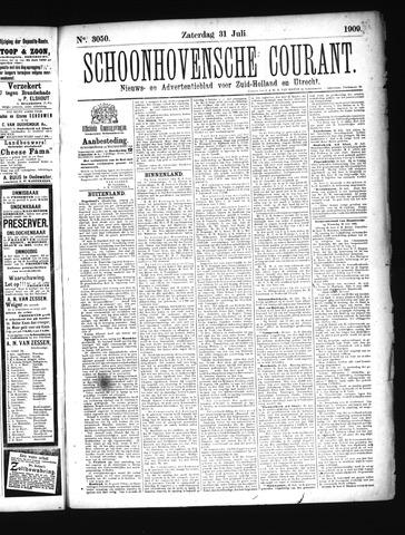 Schoonhovensche Courant 1909-07-31