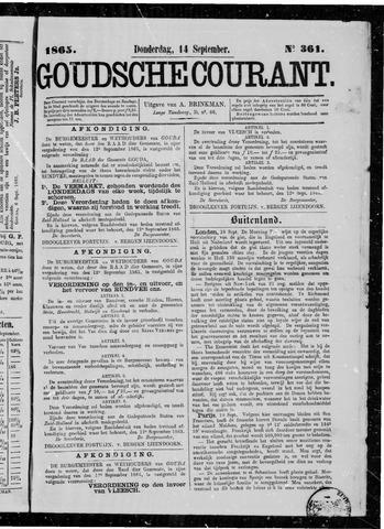 Goudsche Courant 1865-09-14
