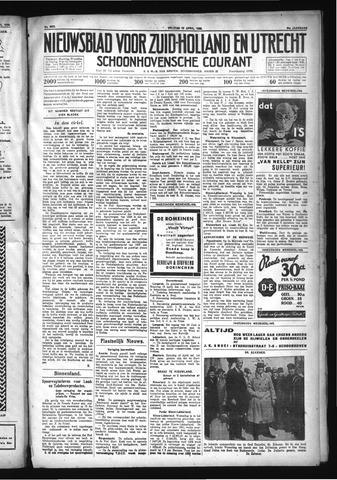 Schoonhovensche Courant 1932-04-15