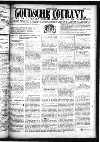 Goudsche Courant 1938-05-09
