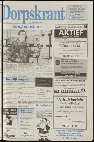 Dorpskrant 1991-12-11