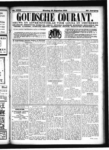 Goudsche Courant 1925-08-25