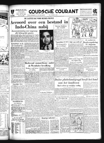 Goudsche Courant 1954-07-20