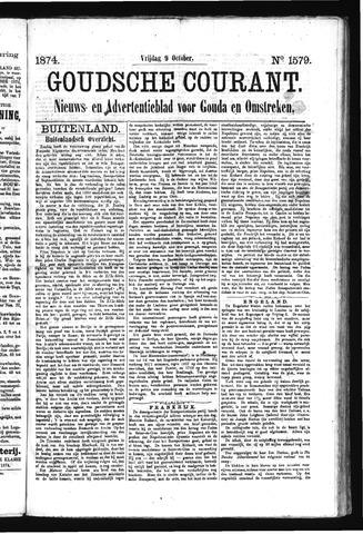 Goudsche Courant 1874-10-09