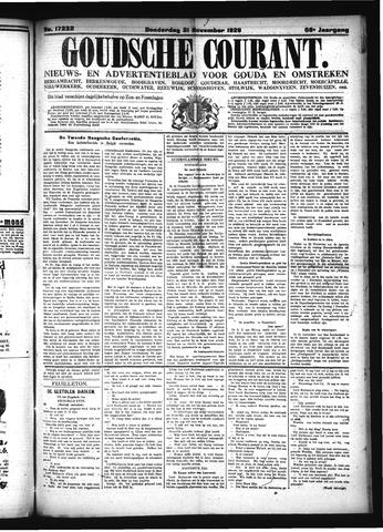 Goudsche Courant 1929-11-21