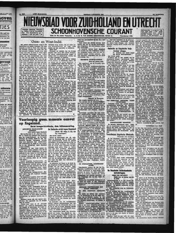 Schoonhovensche Courant 1940-08-02