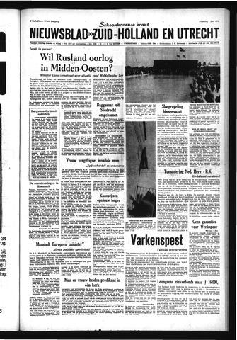 Schoonhovensche Courant 1970-06-01
