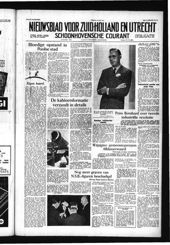 Schoonhovensche Courant 1956-06-29