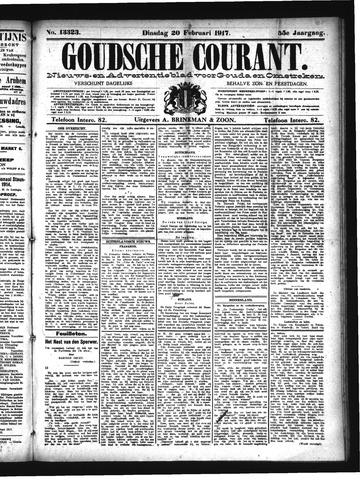 Goudsche Courant 1917-02-20