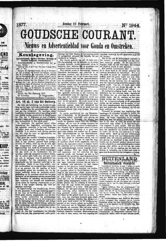 Goudsche Courant 1877-02-11