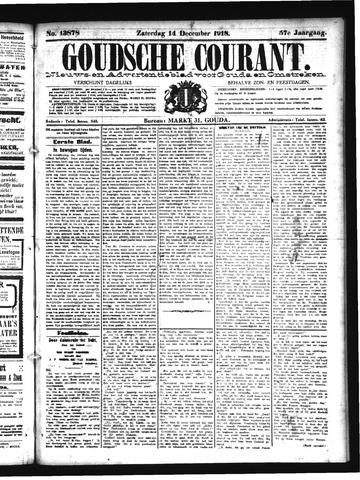 Goudsche Courant 1918-12-14