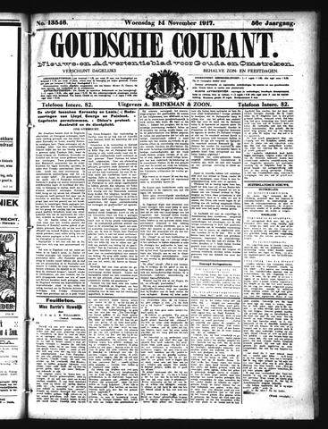 Goudsche Courant 1917-11-14