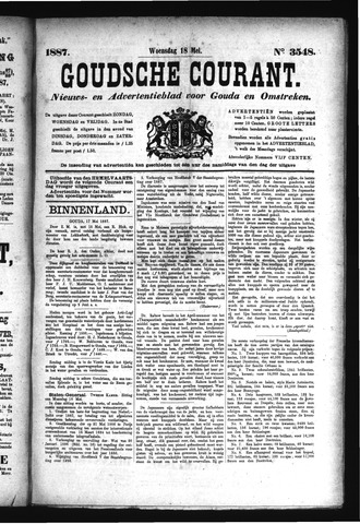 Goudsche Courant 1887-05-18