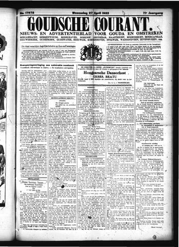 Goudsche Courant 1932-04-27