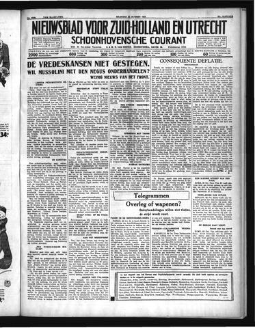 Schoonhovensche Courant 1935-10-28
