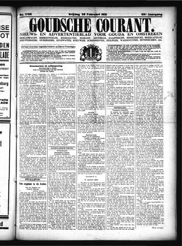 Goudsche Courant 1931-02-20
