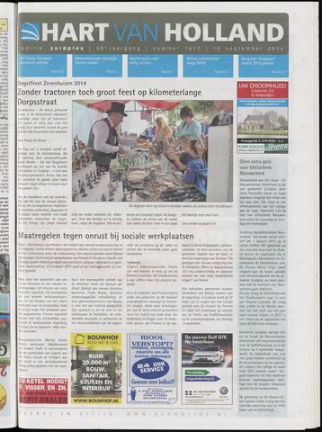 Hart van Holland - Editie Zuidplas 2014-09-10