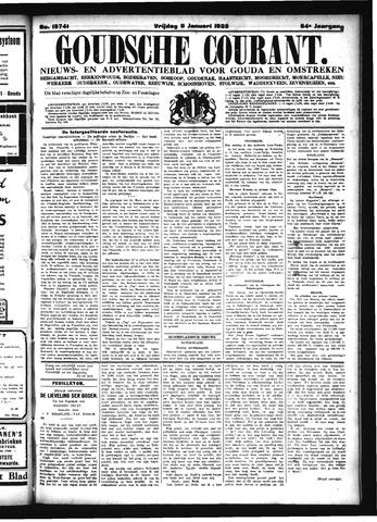 Goudsche Courant 1925-01-09
