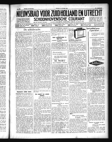 Schoonhovensche Courant 1938-10-21