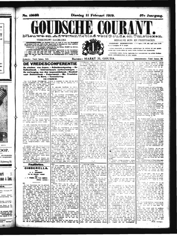 Goudsche Courant 1919-02-11