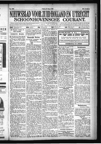 Schoonhovensche Courant 1928-03-23