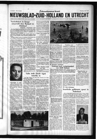 Schoonhovensche Courant 1960-07-18