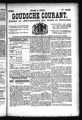Goudsche Courant 1890-02-10