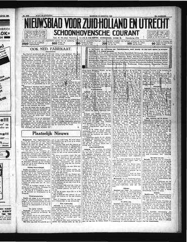 Schoonhovensche Courant 1935-08-12