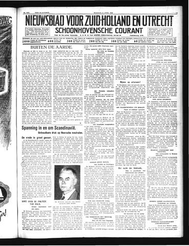Schoonhovensche Courant 1940-04-08