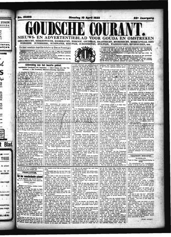 Goudsche Courant 1923-04-10