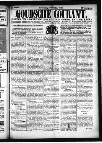 Goudsche Courant 1929-10-17